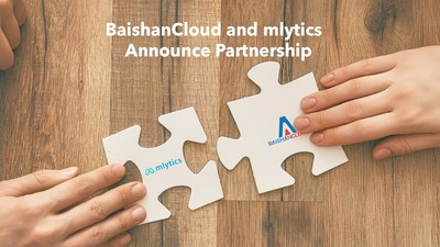 BaishanCloud and mlytics announce partnership
