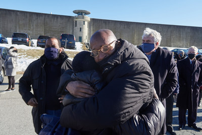 George Bell and Mother – March 5, 2021. Photo Credit: Klaus Enrique
