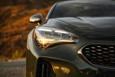 Kia Motors America presenta un adelanto del Stinger 2022 renovado