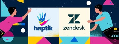 Haptik launches integration with Zendesk to provide AI-driven User Experience