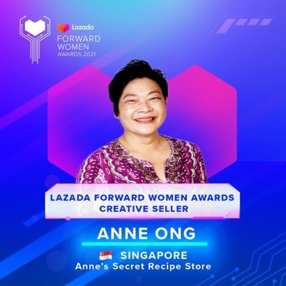 Anne Ong, 56 years old, Singapore (PRNewsfoto/Lazada Group)
