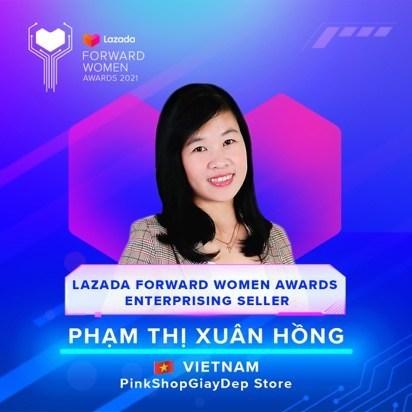 Pham Thi Xuan Hong, 34 years old, Vietnam (PRNewsfoto/Lazada Group)