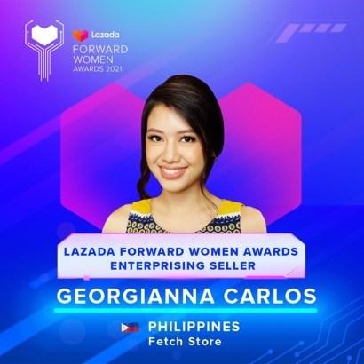Georgianna Carlos, 30 years old, Philippines (PRNewsfoto/Lazada Group)