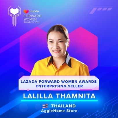 Lalilla Thamnita, 39 Years Old, Thailand (PRNewsfoto/Lazada Group)