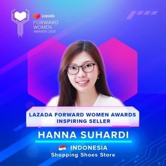 Hanna Suhardi, 29 years old, Indonesia (PRNewsfoto/Lazada Group)