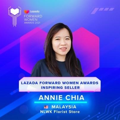 Annie Chia, 44 years old, Malaysia (PRNewsfoto/Lazada Group)