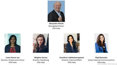 Women Leaders at IPM India with Alexander Reisch, MD IPM India