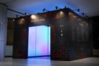 """Ainu-Kultur ausgedrückt durch ?Klang"""" in einer neuen Medienkunst-Ausstellung im Flughafen New Chitose, die am 22. Februar er?ffnet wurde"""