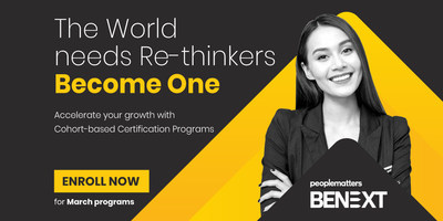 BENEXT, A Digital Platform for Cohort-Based Courses (CBC) Launched by People Matters  People Matters BeNext Cohort-based Certification Program