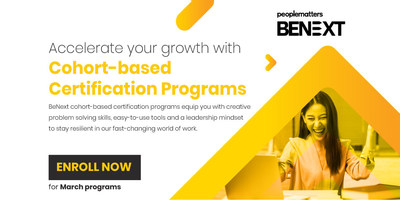 BENEXT, A Digital Platform for Cohort-Based Courses (CBC) Launched by People Matters