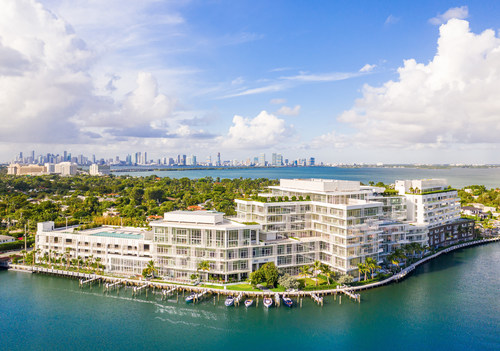 The Ritz-Carlton Residences, Miami Beach – The first full-scale project by world renowned Master Italian Architect Piero Lissoni in the United States is nearly 90 percent sold