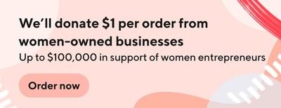 DoorDash's in-app Made By Women program