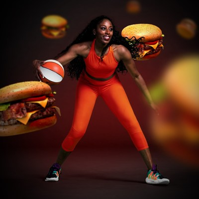 DoorDash's new partner Chiney Ogwumike, multi-platform ESPN commentator and two-time All-Star of the WNBA's Los Angeles Sparks