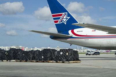 Amerijet Ramp Miami (PRNewsfoto/Amerijet International, Inc.)