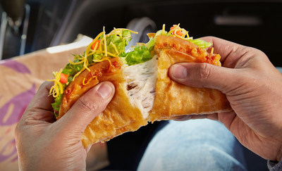 During its 2016 debut, the Quesalupa wowed cheese lovers everywhere and was one of the brand's biggest limited-time offers in history. Now it's back, and more craveable than ever, with 50 percent more cheese inside its famous double-layered shell.