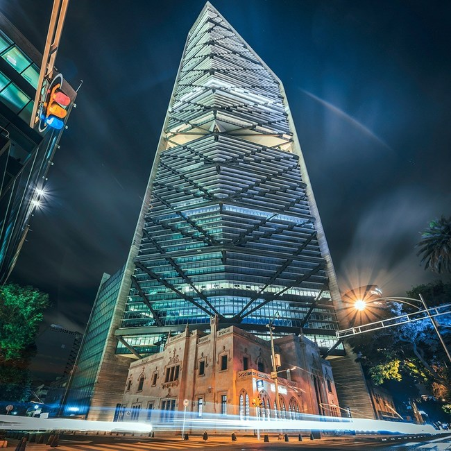 Torre Reforma building in Mexico City, home to Galileo's Latin America headquarters.