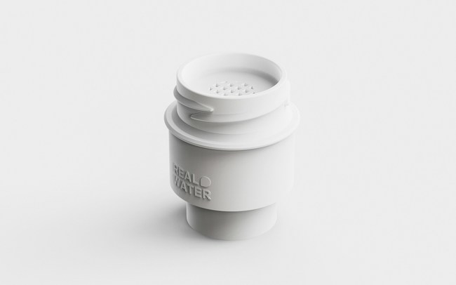 Real Water bottle cap