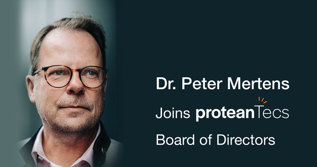 Dr. Peter Mertens joins the proteanTecs Board of Directors