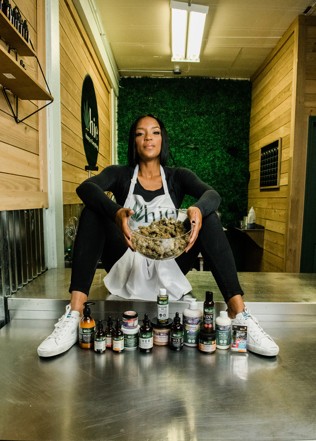 Chyncia Rodgers, CEO of Hemp in Everything