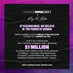 Fashion Nova Cares With Megan Thee Stallion Celebrate...