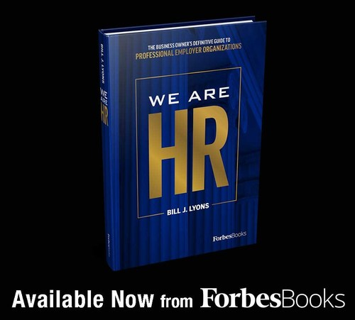 """Bill Lyons Releases """"We are HR"""" with ForbesBooks"""