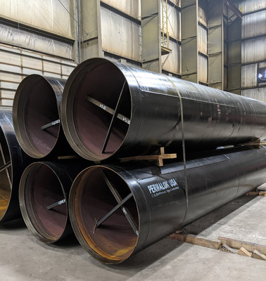 Manufactured to AWWA or ASTM standards, Permalok steel casing pipe dramatically increases field installation efficiency in trenchless projects.
