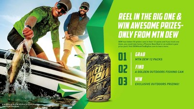 MTN DEW® Fuels Outdoor Adventures by Challenging Fans to 'Hook the Big One'
