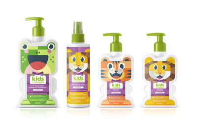 introducing our new grown-up line for bath time and beyond, designed to help kids feel clean and in control.