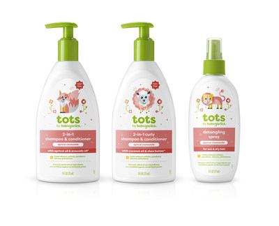 tots by babyganics, a new line for tots.
