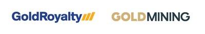 Gold Royalty Corp. and GoldMining Inc. logos (CNW Group/GoldMining Inc.)