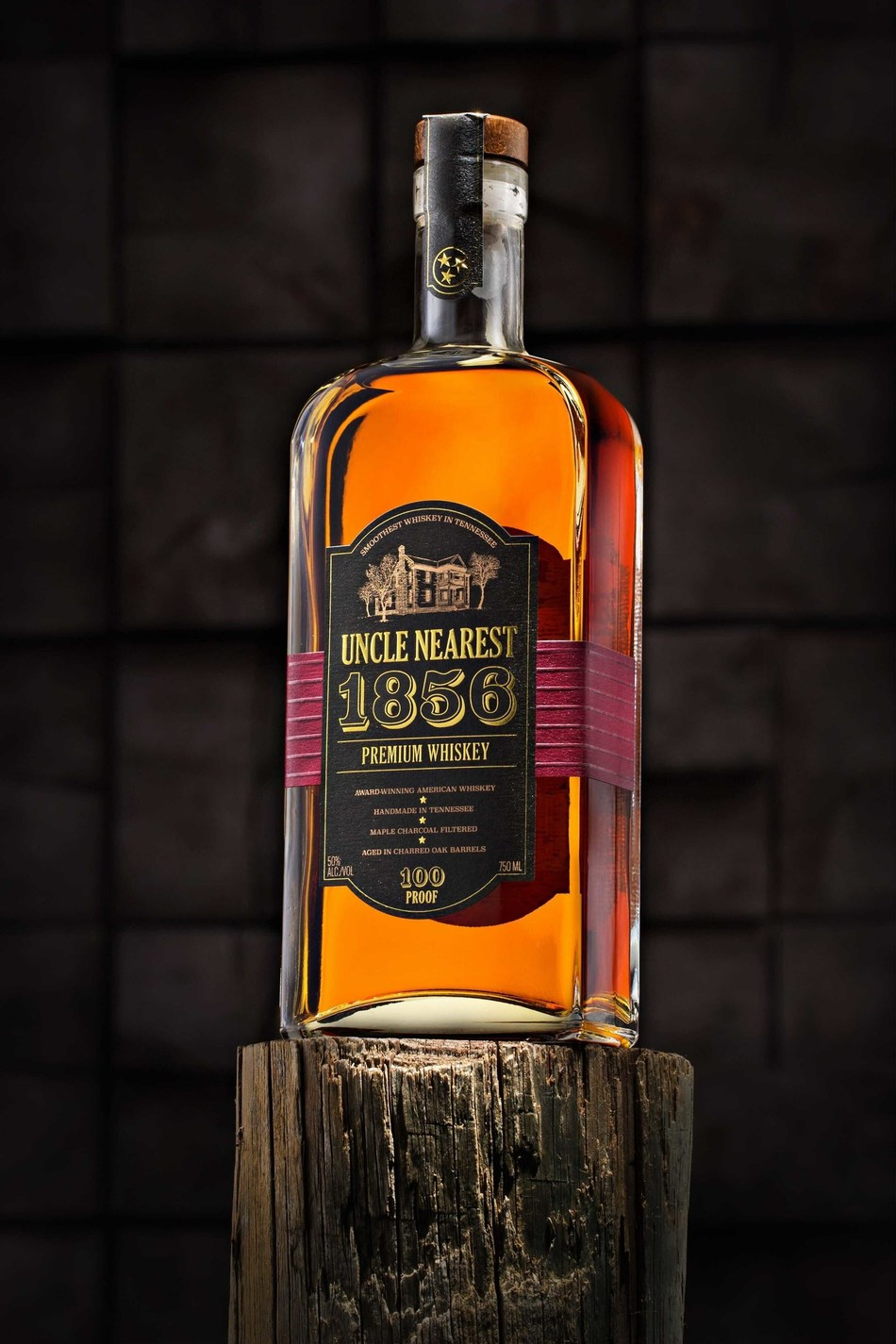 Uncle Nearest Premium Whiskey debuted in July 2017 with its 1856 Premium Aged Whiskey.