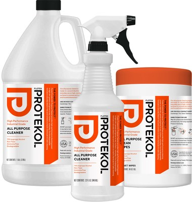 Flotek Protekol: High-performing surface cleaners, degreasers, disinfectants, wipes and sanitizers.