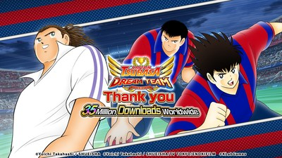 KLab's Japanese and global versions of Captain Tsubasa: Dream Team have reached a combined 35 million downloads worldwide. In celebration, the 35 Million Downloads Worldwide Campaign will kick off Friday, March 12 in the Japanese and global versions of the game. See in-game announcements for full details.