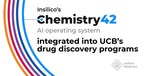 Insilico's Chemistry42 AI system integrated into UCB's drug...