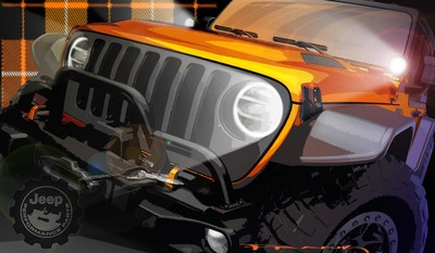 The much anticipated 2021 Easter Jeep Safari is right around the corner, and the Jeep® brand and Jeep Performance Parts by Mopar teams are getting ready to debut several concepts in Moab, Utah, March 27-April 4. These concept design sketches provide a sneak preview of what's in store.