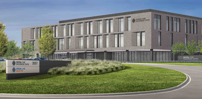 Rendering of the new Crystal Clinic Orthopaedic Center Hospital.