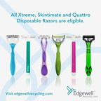 Edgewell Announces Global Disposable Razor Portfolio Made with up to 100% Post-Consumer Recycled Plastic Handles