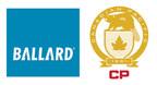 Ballard Fuel Cells to Power CP Hydrogen Locomotive Program