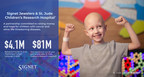 Signet Jewelers presents check for $4.1 million to benefit St. Jude Children's Research Hospital, 2020 St. Jude Thanks and Giving campaign
