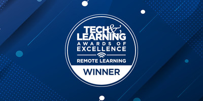 Unruly Studios has been named a Winner of the Tech & Learning 2021 Awards for the Best Remote & Blended Learning Tools.