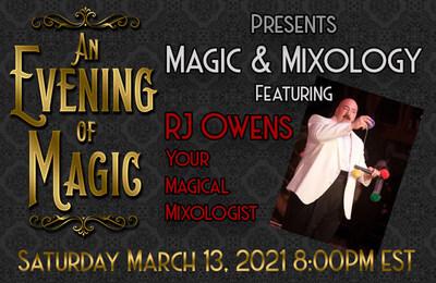 An evening of Magic via zoom