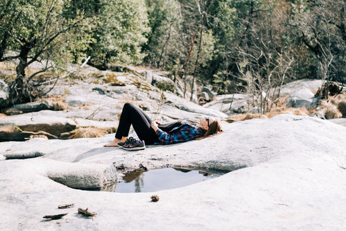 Discover forest bathing in Yosemite's Sierra Nevada.