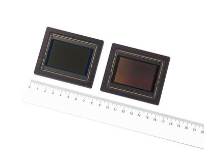 IMX661 CMOS Image Sensor (left: color model, right: black and white model)