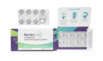 NURTEC™ ODT Convenient 8-count Package