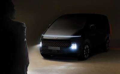 Hyundai Motor unveiled the teaser images of STARIA, the brand's new multi-purpose vehicle (MPV) lineup.