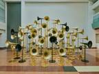 Desde el 27 de febrero se exhiben obras de arte multimedia de autoría de ocho grupos de artistas en los aeropuertos de Haneda y Narita