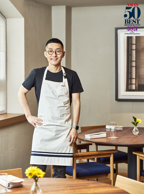 Asia's 50 Best Restaurants has announced that Mingoo Kang of Mingles in Seoul, South Korea, is the 2021 recipient of the Inedit Damm Chefs' Choice Award. (PRNewsfoto/ASIA'S 50 BEST RESTAURANTS)
