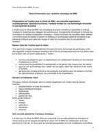 Fiche d'information sur l'ambition climatique de BMO (Groupe CNW/BMO Groupe Financier)