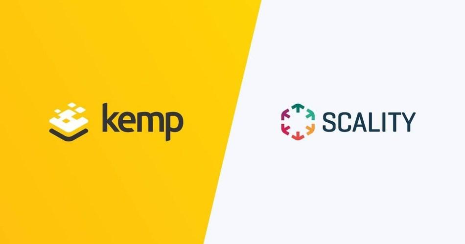 Kemp Enhances Availability and Performance of Scality's Object Storage (PRNewsfoto/Kemp Technologies)
