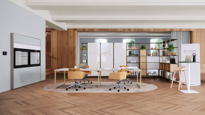 Designed to divide space, enhance collaboration and provide storage in open areas, Flex Active Frames create productive, inspiring and adaptable homes for teams. The simple three-step build allows them to be designed as an architectural boundary to provide a team with privacy and lockers, or a work island to support collaboration. Highly customizable and flexible, the options are endless creating ideal spaces for teams to do their best work.